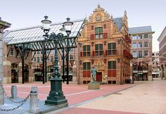 Goudkantoor - Café Restaurant at Groningen in The Netherlands Kingdom Of The Netherlands, Holland Netherlands, Countries Of The World, Capital City, European Travel, Places Ive Been, Amsterdam, The Good Place, Beautiful Places