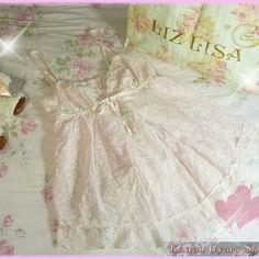 Vintage liz lisa baby doll cami