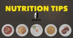 TIP OF THE DAY: Top 10 Nutritional Tips to Follow!  Nutrition is a multi-faced topic which has many intricacies you need to both understand and apply in order to get the best possible results. It's important to use the right nutrition protocols! #MrSport lists 10 tips that are sure to help your fat burning and muscle building goals!