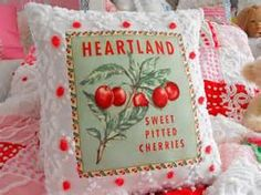 pillows made from chenille bedspreads - - Yahoo Image Search Results