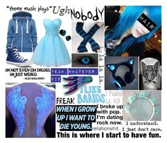 """""""Creepypasta OC"""" by shadowgirl13 ❤ liked on Polyvore featuring Converse and Lara"""