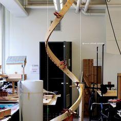 Award: Zippered Wood Twists the Standard 2x4 to Craft New Forms | Architect Magazine Architect Magazine, Pavilion, Twists, Awards, Wood, Crafts, Chunky Twists, Manualidades, Woodwind Instrument