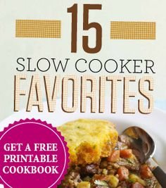 Get a Free Printable Slow Cooker Recipe Book  http://womenfreebies.ca/free-samples/family-circle-slow-cooker/