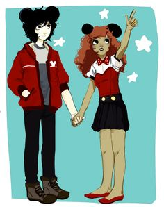 THE CHILDREN OF DEATH<< Oh my gods, they're so scary xD>>>>imagine them at Disney World together and Hazel just dragging Nico to go see something and Nico just faintly smiling and gaaaaaaaaah i'm sorry i just had a cuteness heart attack.