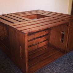 1000 Images About Wooden Crate Coffee Table On Pinterest