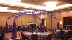 Balloons over Dance Floor