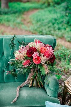 Photography : Elisabeth Arin Photography Read More on SMP: http://www.stylemepretty.com/california-weddings/2015/06/06/colorful-boho-wedding-inspiration-for-the-world-traveler/