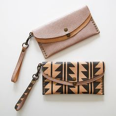 Wild West Wallets made by South African leather accessory designer Chloe Townsend of Missibaba.