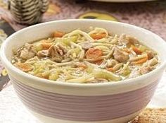 COUNTRY COMFORT CHICKEN SOUP Recipe