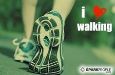 Repin if you LOVE #walking for health & fitness like we do! Walking is one of the easiest ways to fit in exercise anytime, anywhere. | via @SparkPeople