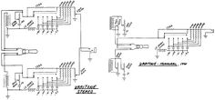 True Bypass Looper Wiring Diagram, LED Indicator, 3PDT