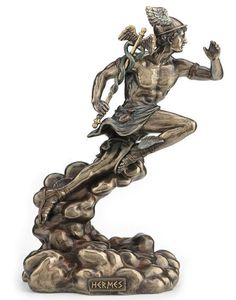 Hermes - Greek God of Travel, Luck and Commerce Statue