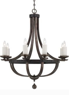 Savoy House Lighting Alsace Transitional Chandelier - SVH-1-9531-8-196