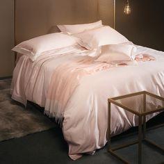 La Perla Venere Duvet Cover - Super King - Soft Pink ($786) ❤ liked on Polyvore featuring home, bed & bath, bedding, duvet covers, pink, light pink bedding, soft pink bedding, pink bedding, pale pink bedding and super king bedding