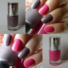 Swatches meiner Catrice Celtica Nagellacke Paralilac und Pinkadoxa http://infarbe.blogspot.de/2013/12/swatches-meiner-catrice-celtica.html