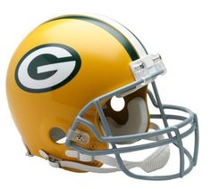 Green Bay Packers Authentic Throwback Helmet-Full Size VSR4 Design