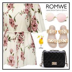 """ROMWE 9"" by merisa-imsirovic ❤ liked on Polyvore"
