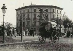Casa Estruch plaça Catalunya. 1910