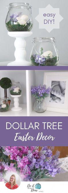 Home Decorating Ideas Diy Amazing Dollar Tree Finds & Easter DIY Dollar Tree Finds, Dollar Tree Decor, Dollar Tree Crafts, Dollar Tree Flowers, Dollar Tree Haul, Diy Craft Projects, Diy Crafts, Garden Crafts, Craft Ideas