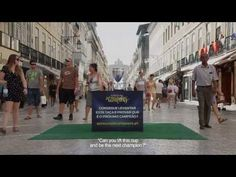 #Ford Portugal is looking for the next champion. They placed a Cup in the middle of the street and challenged people to try and lift it. But there is a catch to it. This is just another feel good campaign, but it's definitely fun for the people walking by and seeing the result.