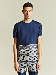 Been taken to heave by this Lanvin Silk Tee...#MrPorterAreYouOnSale?
