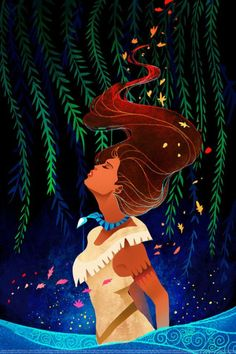 ImageFind images and videos about disney and pocahontas on We Heart It - the app to get lost in what you love. Disney Pixar, Disney Pocahontas, Walt Disney, Disney Fan Art, Disney Magic, Disney E Dreamworks, Deco Disney, Disney Girls, Disney Animation