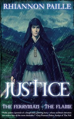 Justice (The Ferryman and the Flame #2) by Rhiannon Paille — YA Fantasy Romance