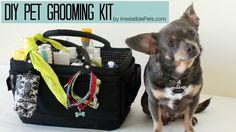 DIY Pet Grooming Kit by IrresistiblePets.com