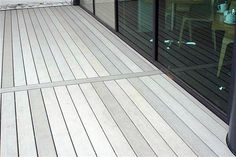 Composite decking is an eco-friendly material, consisting of fusing plastics and wood into outdoor boards.