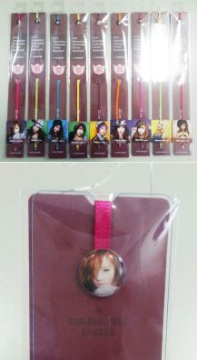 SNSD Collectable Sticker Bookmark (Taeyeon)
