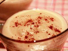 Μηλόκρεμα με γάλα καρύδας. Χορτοφαγική - χωρίς γλουτένη - χωρίς ζάχαρη