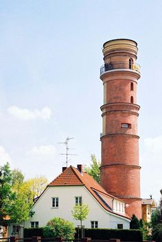 Travemunde Germany ... The Travemunde Lighthouse is one of the oldest lighthouses remaining in Germany having been built in 1539. It is located on the Baltic Sea northeast of the city of Lubeck.