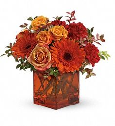 Teleflora's Sunrise Sunset in Blacksburg VA, Best Wishes Flowers & Gifts