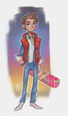 Marty Mcfly by DaveJorel on DeviantArt