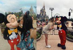 Hello! Acho que todo mundo já sabe que eu sou Disney freak , Universal freak , na verdade sou Orlando freak hahah Eu AMO aquele lugar,... Disney Day, Disney Nerd, Disney Girls, Baby Disney, Dream Pictures, Disney Pictures, Disney Poses, Disneyland Photography, Disneyland Trip