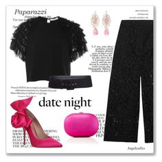 """""""Enchanting date night"""" by angelicallxx ❤ liked on Polyvore featuring Kurt Geiger, Valentino, Alexis, Hueb, Jeffrey Levinson, Giuseppe di Morabito and summerdatenight"""