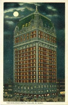 adolphus hotel, dallas tx - where we'll be spending valentine's day weekend!