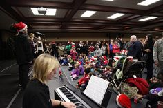 Holiday Tree Lighting - U.S. Army Garrison Humphreys, South Korea - 30 November 2012, via Flickr.