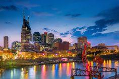Nashville 12 - America's 20 Most Beautiful Skylines, Ranked
