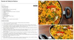 Receta de paella de mariscos / Seafood Paella Recipe