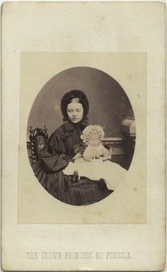 Princess Victoria and her daughter Charlotte