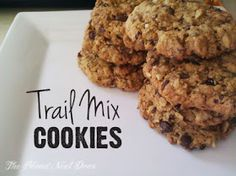 the Blond Next Door: Recipe: Trail Mix Cookies