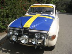 saab 96 rally car | Saab 96 classic London-Sahara-London Rally car | Flickr - Photo ...