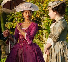 Gugu Mbatha-Raw in Belle - 2013 Period Costumes, Movie Costumes, Belle Movie, 18th Century Costume, Black Costume, Princess Ball Gowns, Historical Clothing, Historical Fiction, Period Outfit