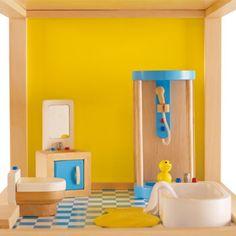 Badkamer poppenhuis, Hape