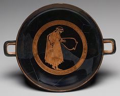 Kylix, ca. 480 B.C.; red-figure  Attributed to the Dokimasia Painter  Greek, Attic  Terracotta