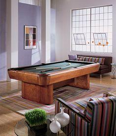 Brunswick Gibson Pool Table