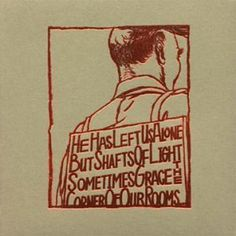 Artist: A Silver Mt. Zion, album: He Has Left Us Alone but Shafts of Light Sometimes Grace the Corner of Our Rooms...