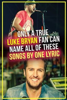 Only a True Luke Bryan Fan Can Name His Songs by One Lyric