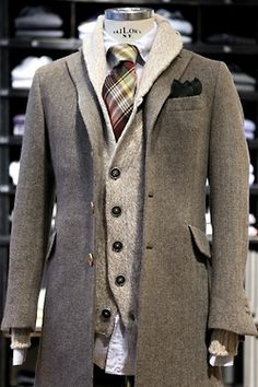 Cool layers.  #men #fashion  Linxspiration